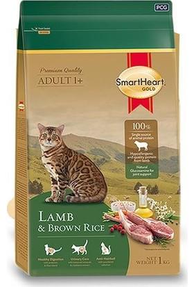 Smartheart Gold Adult Cat Lamb & Brown Rice 7 kg Kuzulu Kedi Maması