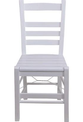 Bahçeci Rino Sandalye (Beyaz)