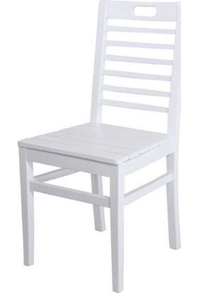 Bahçeci Bodrum Sandalye (Beyaz)