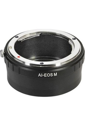Ayex Canon Eos M Için Nikon Lens Kullanım Adaptörü