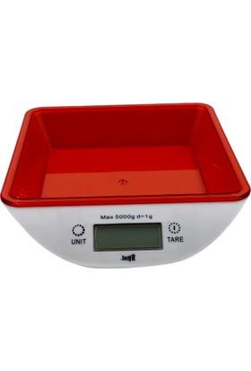 Techfit Dijital Mutfak Terazisi Mutfak Tartısı Hassas Tartı 1gr - 5kg