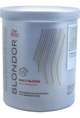 Wella Multi Blondor Mavi Açıcı Pudra 800 ml