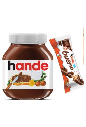 Nutella 750 gr Isme Özel & Kinder Bueno