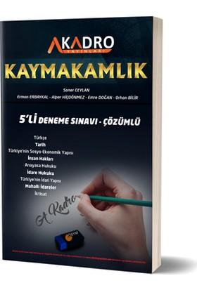 A Kadro Yayınları Kaymakamlık Çözümlü 5 Deneme