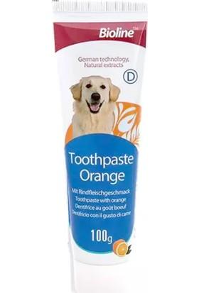 Bioline Portakal Aromalı Diş Macunu 100 gr