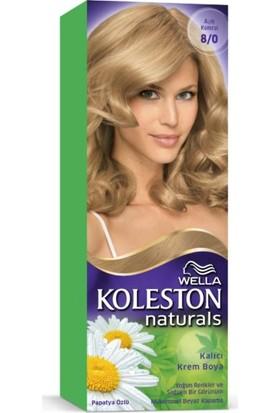 Wella Koleston Naturals Saç Boyası 8/0 Açık Kumral