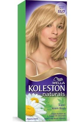 Wella Koleston Naturals Saç Boyası 11/7 Vanilya Sarısı