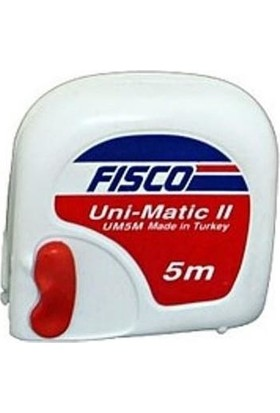 Fisco Şerit Metre Fısco Metre 5 mt
