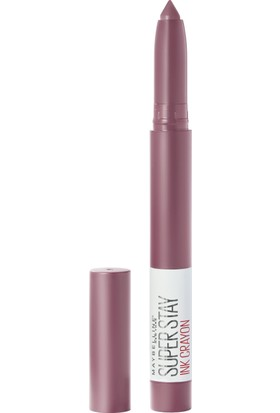 Maybelline New York Super Stay Ink Crayon Kalem Mat Ruj - 25 Stay Exceptional
