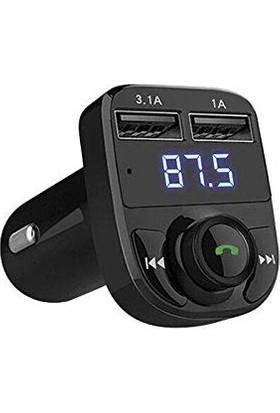 Kai Bluetooth Transmitter Mp3 Araç Şarjı Araç Kiti ET-M29