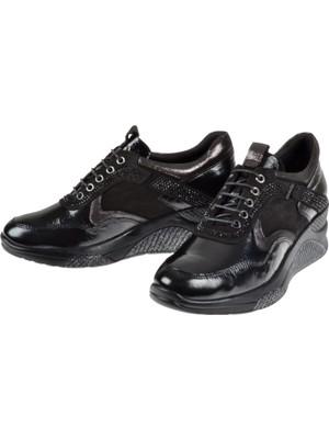 Venüs Deri Günlük Kadın Ayakkabı VNS-1856070 Siyah