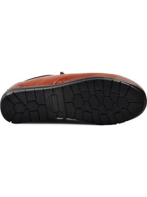 Pabucmarketi Taba Topuk Jel Destekli Kadın Ayakkabı