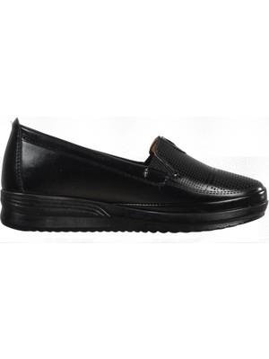 Pabucmarketi Atm- Siyah Kadın Günlük Ayakkabı
