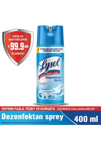 Lysol Dezenfektan Sprey Temizliğin Esintisi Yüzeyler İçin 400 ml