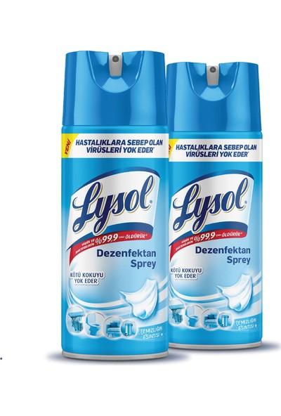 Lysol Dezenfektan Sprey Temizliğin Esintisi 2'li, Yüzeyler için, 2x400 ml