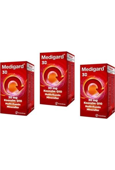 Eczacıbaşı Medigard Vitamin Mineral Kompleks COQ10 30 Tablet x 3