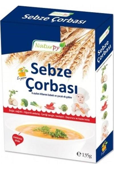 Naturpy Bebekler İçin Tarhana + Sebze Çorbası + Kesme Tahtası 3'lü Set