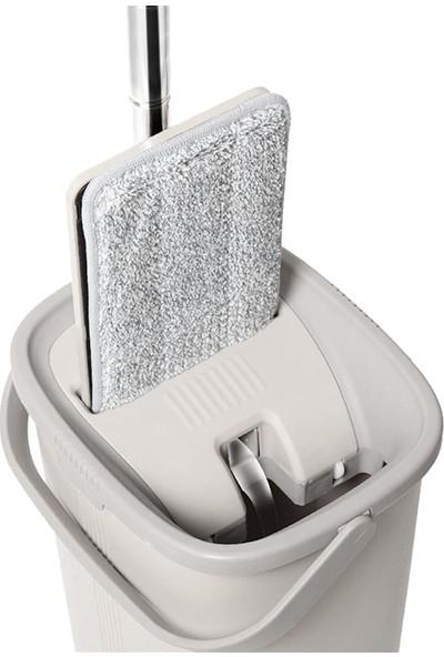 İkra Home Ikrahome Spring Tablet Mop Yeni Nesil Temizlik Kova Paspas Seti