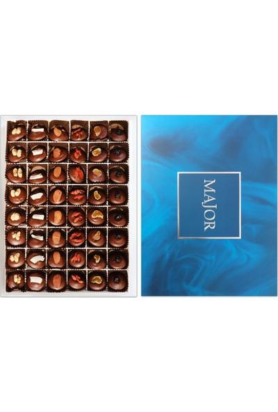Major Chocolate Sıfır Şeker Kutusu Büyük 48'li