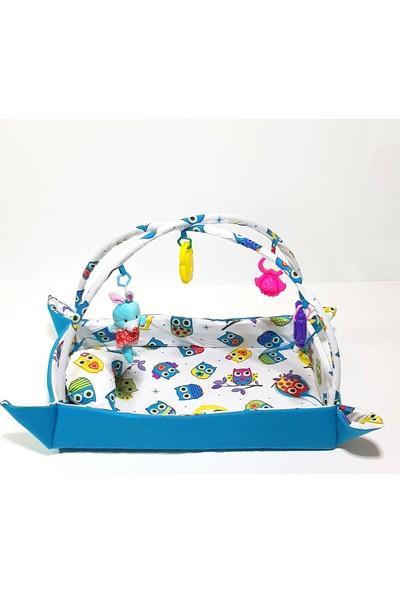 Mavienerji Bebek Uyku Yatağı & Oyun Halısı