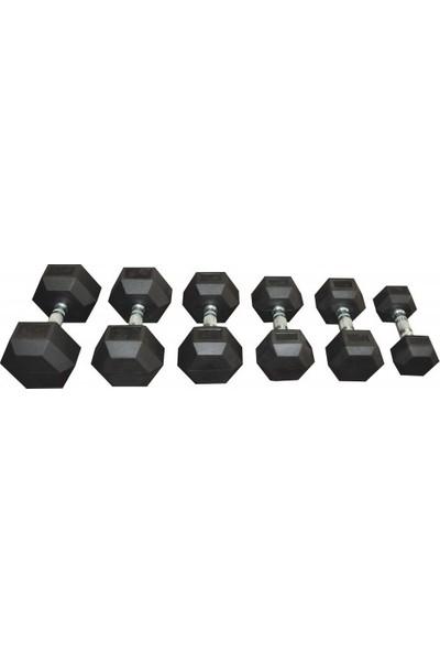 Dıesel Fıtness Altıgen Dumbell Set (2,5 - 30 Kg)-1dıashex