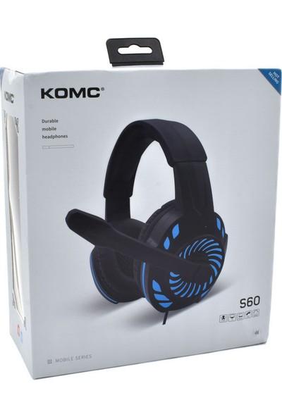 Komc S60 LED Kulak Üstü Kulaklık