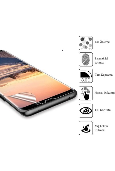 Piili Samsung Galaxy S8 Plus Cam Ekran Koruyucu