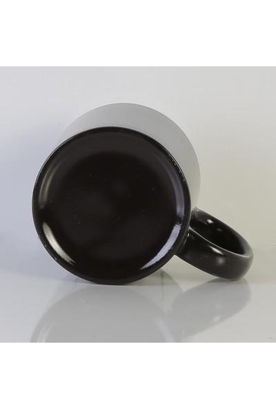 Gökkuşağı Kupa Bardak Sihirli Siyah