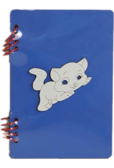 Gökkuşağı 10X15 cm Figürlü Mavi Kendin Yap Albüm