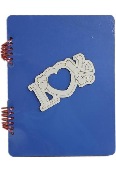 Gökkuşağı 15X21 cm Figürlü Mavi Kendin Yap Albüm