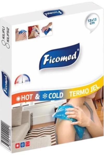 Ficomed Hot-Cold Termojel Sıcak Soğuk Jel Kompress 13 X13 cm