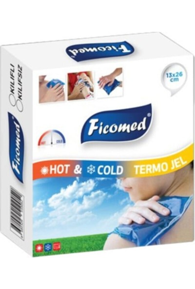 Ficomed Sıcak Soğuk Termojel Kompres 13X26 cm