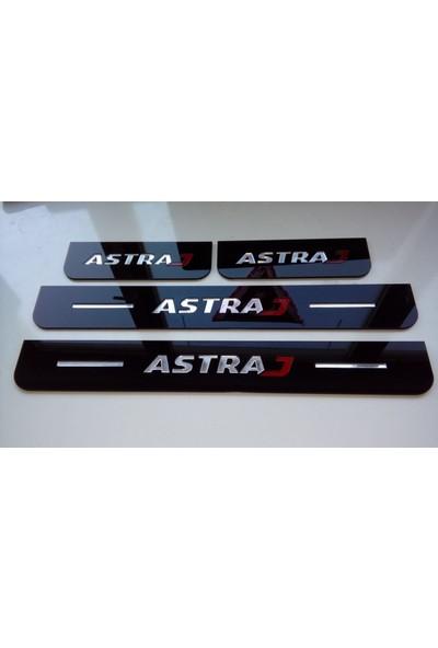 Berişbek Kardeşler Opel Astra J Pleksi Kapı Eşiği Takımı 4 Parça