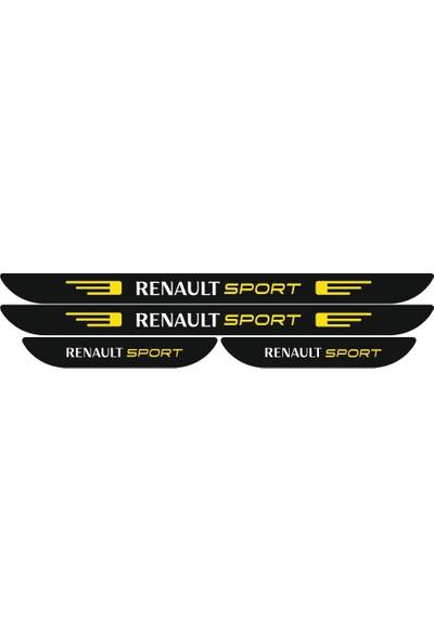 Berişbek Kardeşler Renault Megane 4 Pleksi Kapı Eşiği Takımı 4 Parça