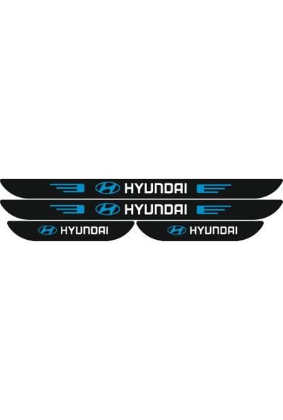 Berişbek Kardeşler Hyundai i20 2008 - 2014 Pleksi Kapı Eşiği Takımı 4 Parça