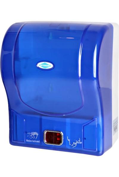 Fitfiyat Wespa Şeffaf Otomatik Hareket Sensörlü Kağıt Havlu Makinesi 21 cm