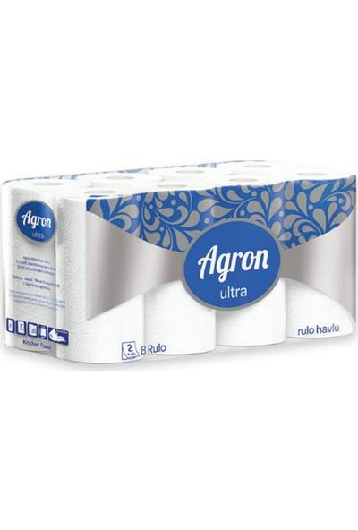 Agron Ultra Ev Tipi Rulo Havlu 24'lü