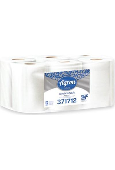 Agron Ultra Hareketli-Sensörlü El Havlusu 6'lı