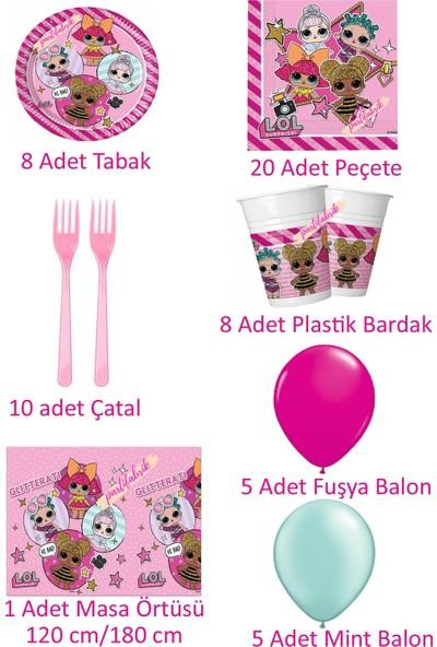 Partifabrik LOL Bebek Doğum Günü Parti Seti