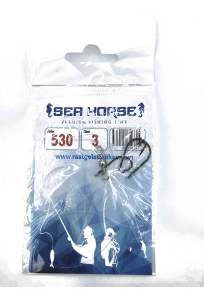 SeaHorse Sea Horse Hazır Takım Yedek 530- No:3