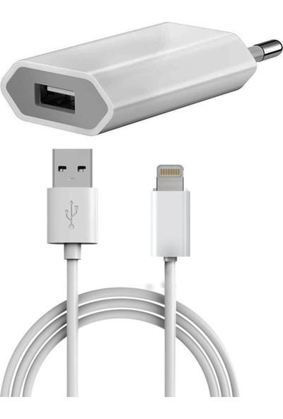 Powerway X11 Iphone Şarj Aleti Duvar Şarjı + Lightning Kablo 1 A
