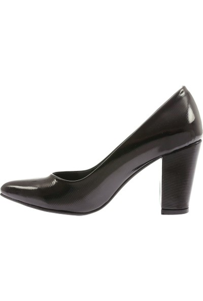 Dgn 1311 Kadın Sivri Burun Parmak Dekolteli Topuklu Ayakabı 20Y