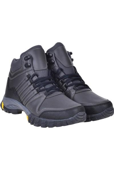 Bulldozer 210419 Füme Kışlık Erkek Trackıng Bot Ayakkabı