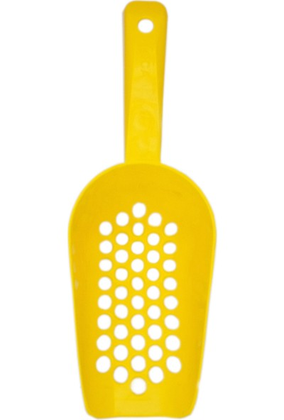 Vestark Kedi Tuvaleti Kumu Temizleme Küreği Sarı
