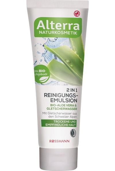 Alterra Makyaj Temizleme Emülsiyonu Aloe Vera Içerikli 2'si 1 125 ml