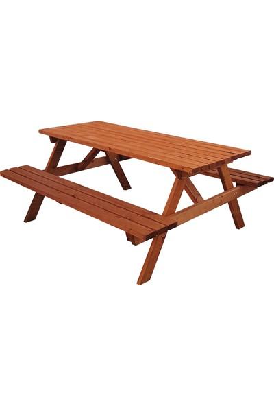 Metsan Piknik Masası 6 Kişilik