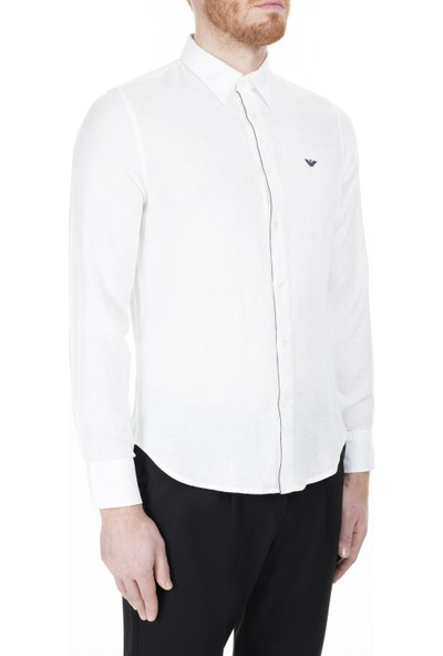 Emporio Armani Regular Fit Erkek Gömlek 3H1CP5 1njız 0100