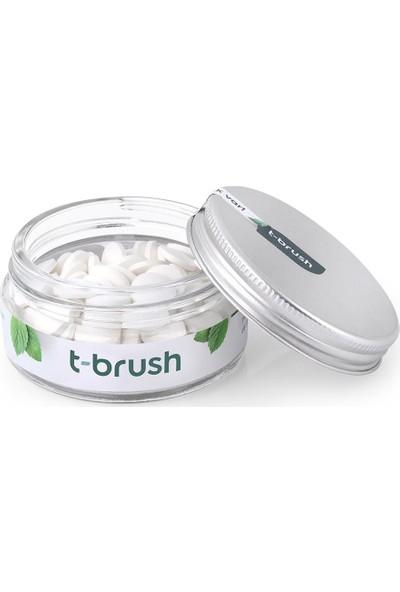 T-Brush Nane Aromalı Diş Macunu Tableti-Florürlü