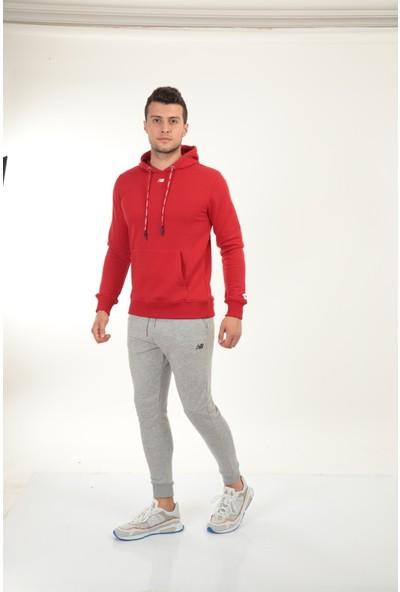 New Balance Mens Retro Kapüşonlu Erkek Sweatshirt