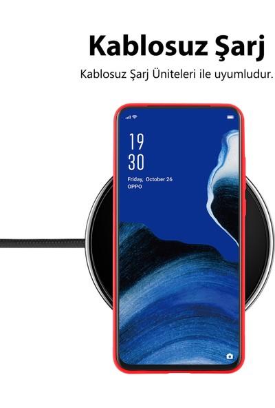Prasmet Samsung Galaxy M31 Kılıf İçi Kadife Yumuşak Cilt Dokulu Lansman Kapak